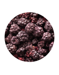 Freeze Dried Whole Blackberry 70gm