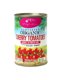 Organic Cherry Tomatoes Tin 400gm