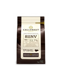Callebaut 811 54.5% Dark Chocolate Callets