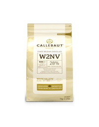 Callebaut W2 28% White Chocolate Callets