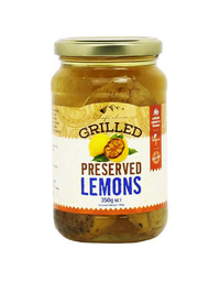 Grilled Preserved Lemons 350gm