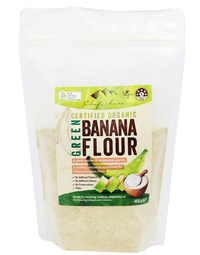 Organic Green Banana Flour 400gm