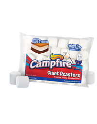 Giant Campfire Marshmallows