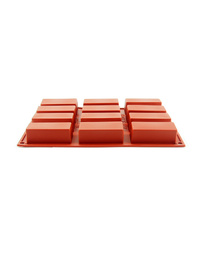 Rectangle Cake Silicone Mould 80x30x30mm