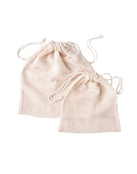 Organic Cotton Produce Bags 6 Pack