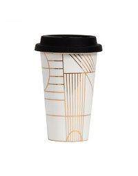 General Eclectic 300ml Gold Takeaway Cup