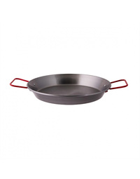 Black Steel Paella Pan