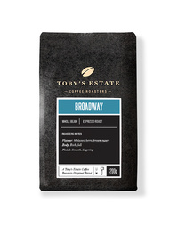 Toby's Estate Whole Coffee Beans 200gm